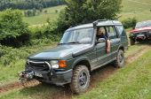 Land Rover Discovery TD5 offroad Čavoj 2016