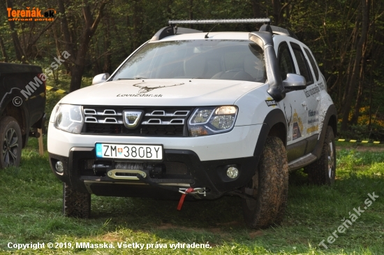 Duster na offroad Tisovec