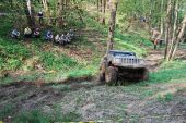 jeep cherokee off road Tisovec 2018